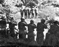 fucilazione a Dane, 31 luglio 1942
