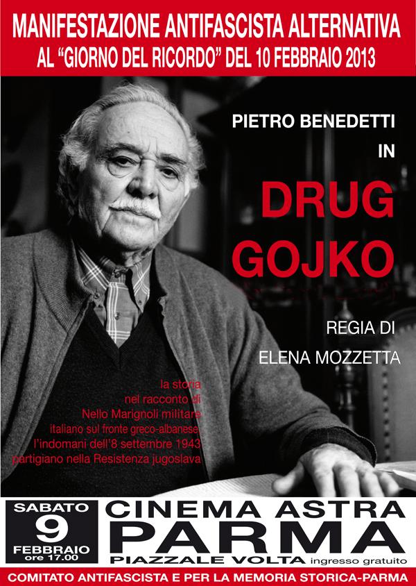 Drug Gojko a Parma, 9/2/2013