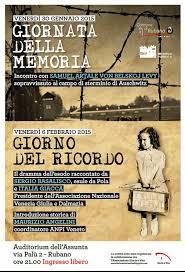 Giornata della Memoria e Giorno del Ricordo mischiati assieme a Rubano (PD), 2015