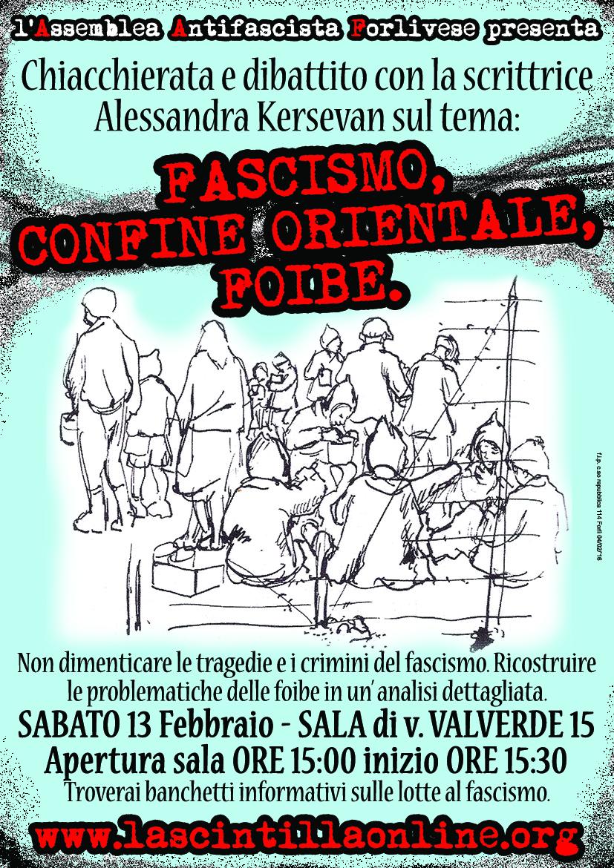 Iniziativa a Forlì, 13/2/2016